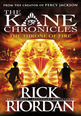 The Throne of Fire - The Kane Chronicles